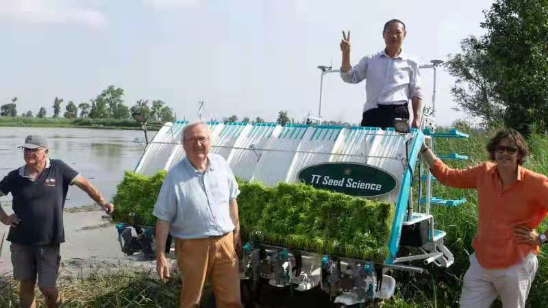 Tianlong company leads China's modern agricultural machinery into the EU
