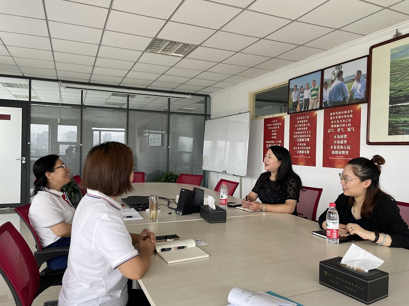 China Export Credit Insurance Corporation Tianjin Branch visited Tianlong Company for investigation